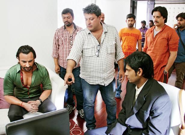 Saif Ali Khan On The Sets Of Bullet Raja