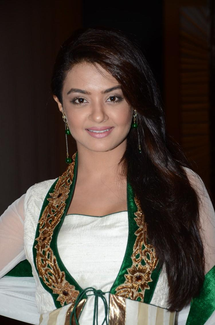 Surveen Chawla Smiling Look At Jai Hind 2 Movie Press Meet