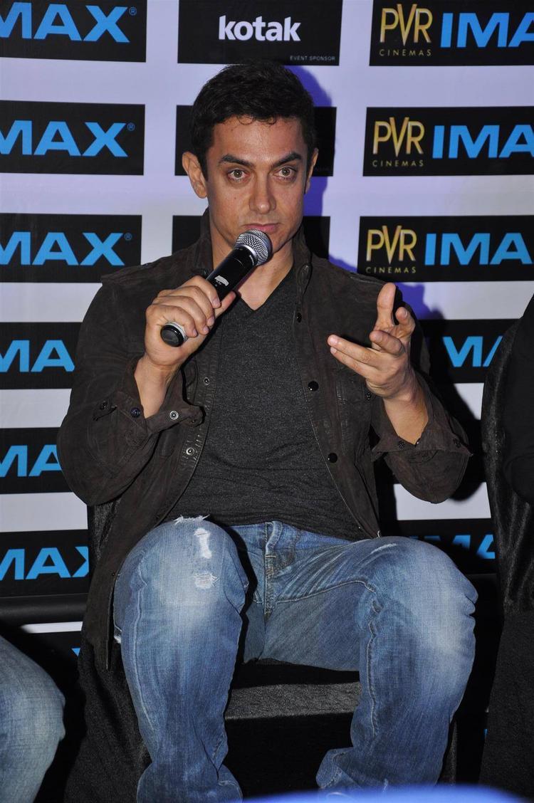 Aamir Khan Inaugurates PVR Phoenix IMAX In Mumbai