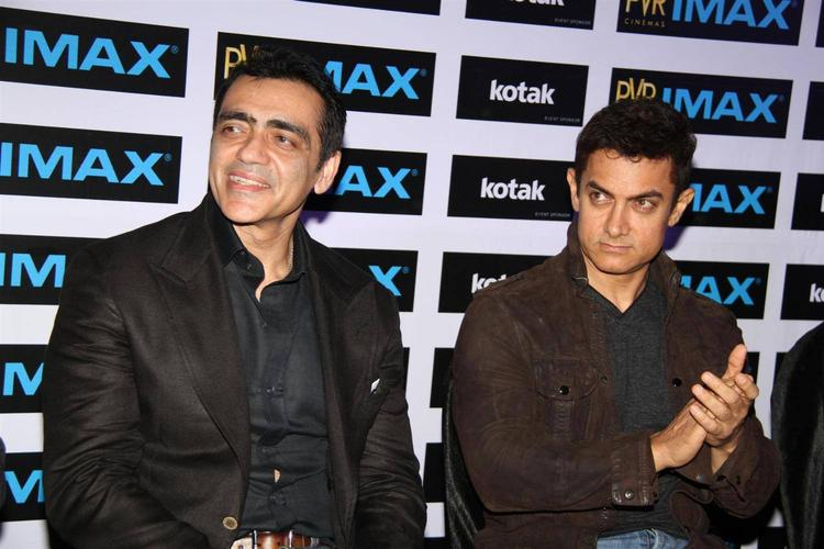 Aamir Khan Inaugurates PVR's New IMAX Theatre In Mumbai
