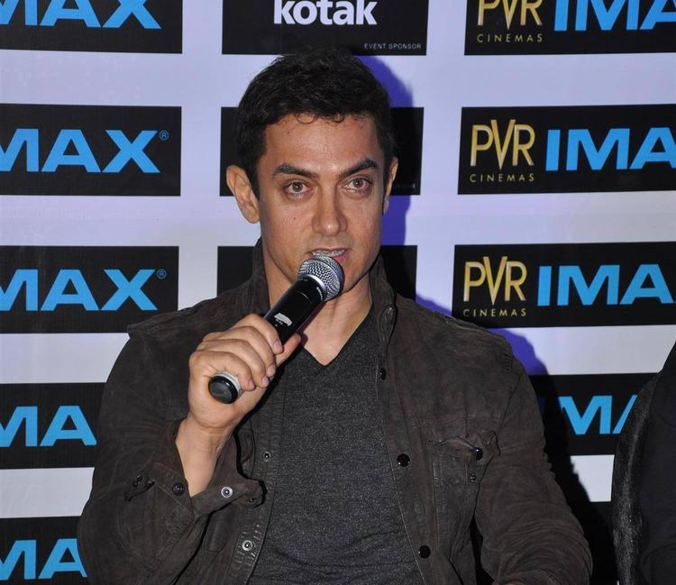 Aamir Khan Launches The Kotak Imax Screen At PVR Phoenix