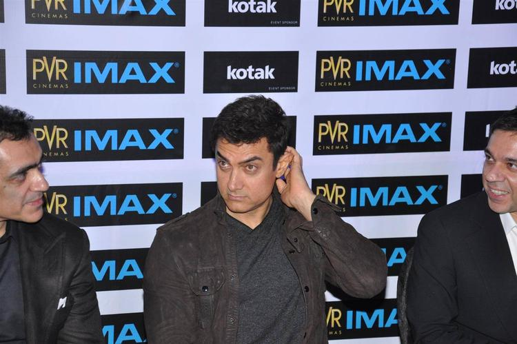 Aamir Khan Launches PVR Phoenix IMAX In Mumbai