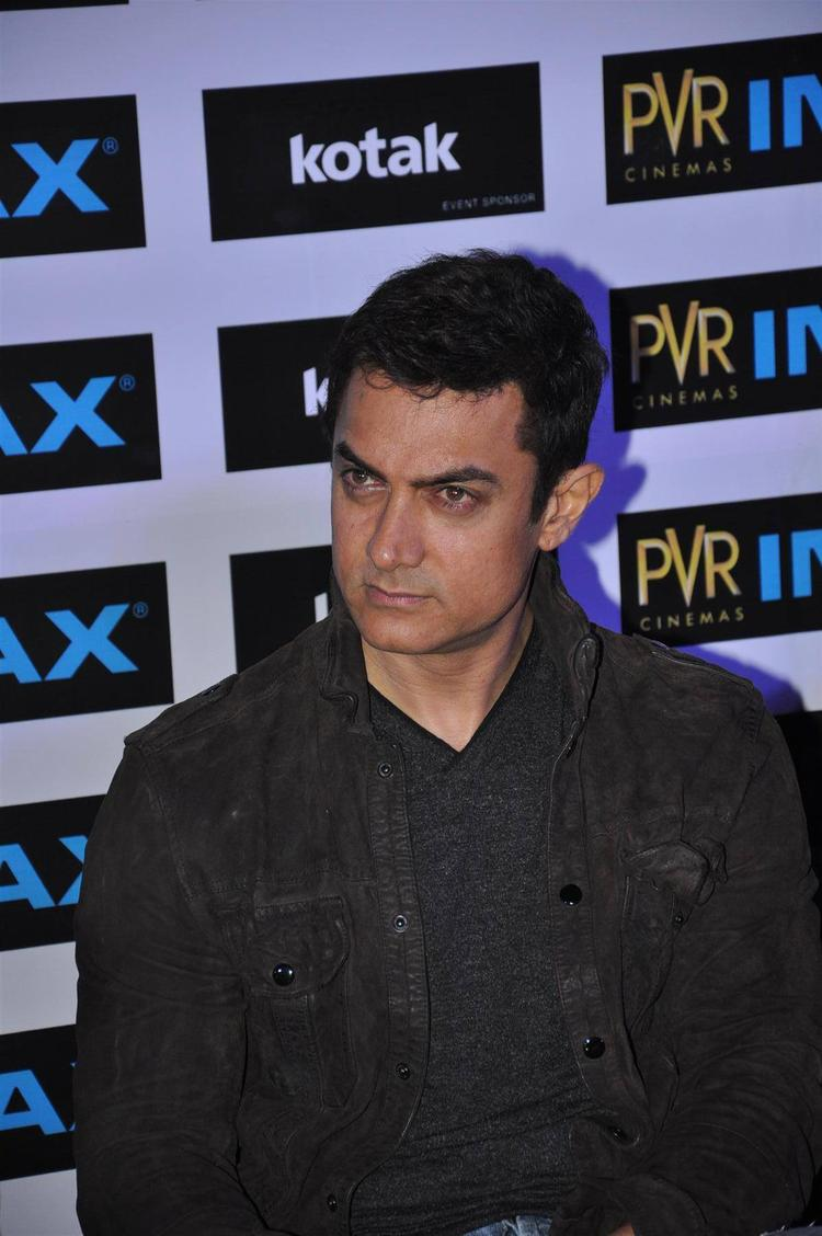 Aamir Khan Spotted To Launch New PVR IMAX Theatre