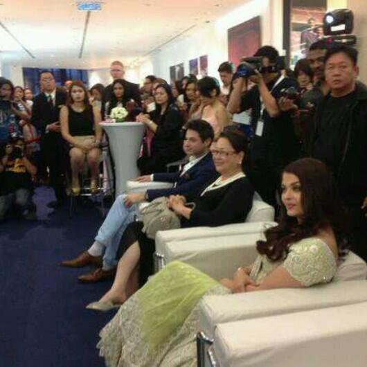 Aishwarya Dazzles In A Lime Green Lehenga At Longines Event In Malaysia
