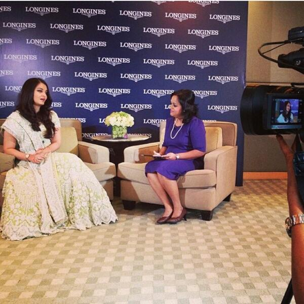 Aishwarya Interview  At A Longines Event In Malaysia