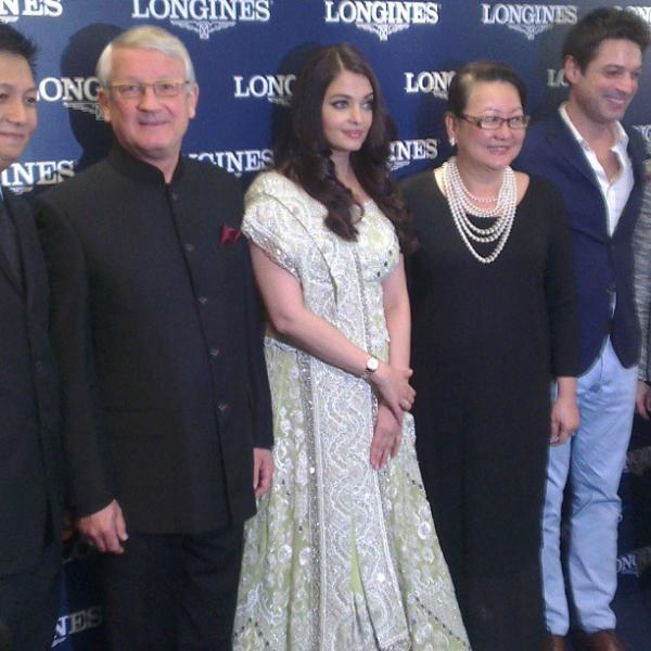 Aishwarya Pose For Photo Shoot During The Longines Event In Malaysia