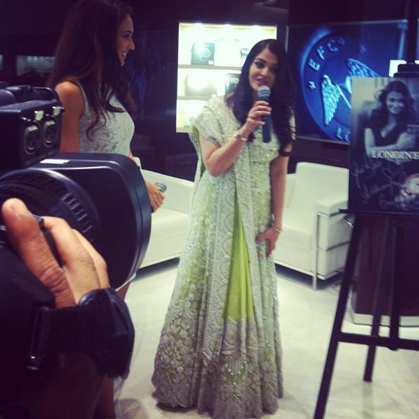 Aishwarya Rai Launched The First Longines Boutique In Malaysia