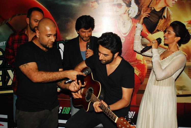 Vishal,Shekhar,Rohit,SRK And Deepika Graced At The Chennai Express Trailer Launch Event