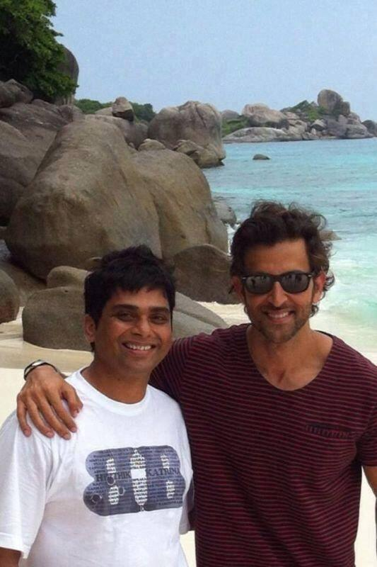 Hrithik Roshan Pose During The Shooting Sets Of Bang Bang
