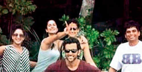 Katrina Kaif And Hrithik Roshan Spotted At Aegean Sea For Bang Bang Shooting