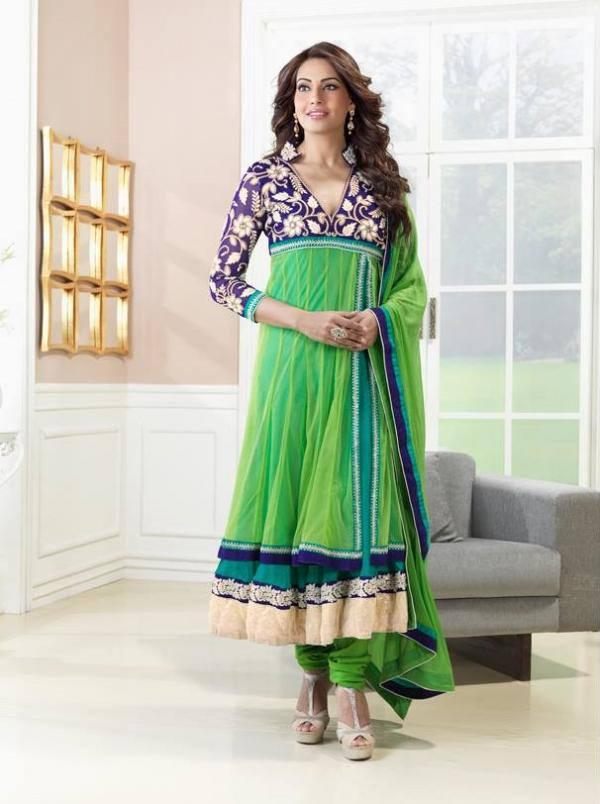 Bipasha Basu Strikes A Pose For Photo Shoot In Salwar Kameez