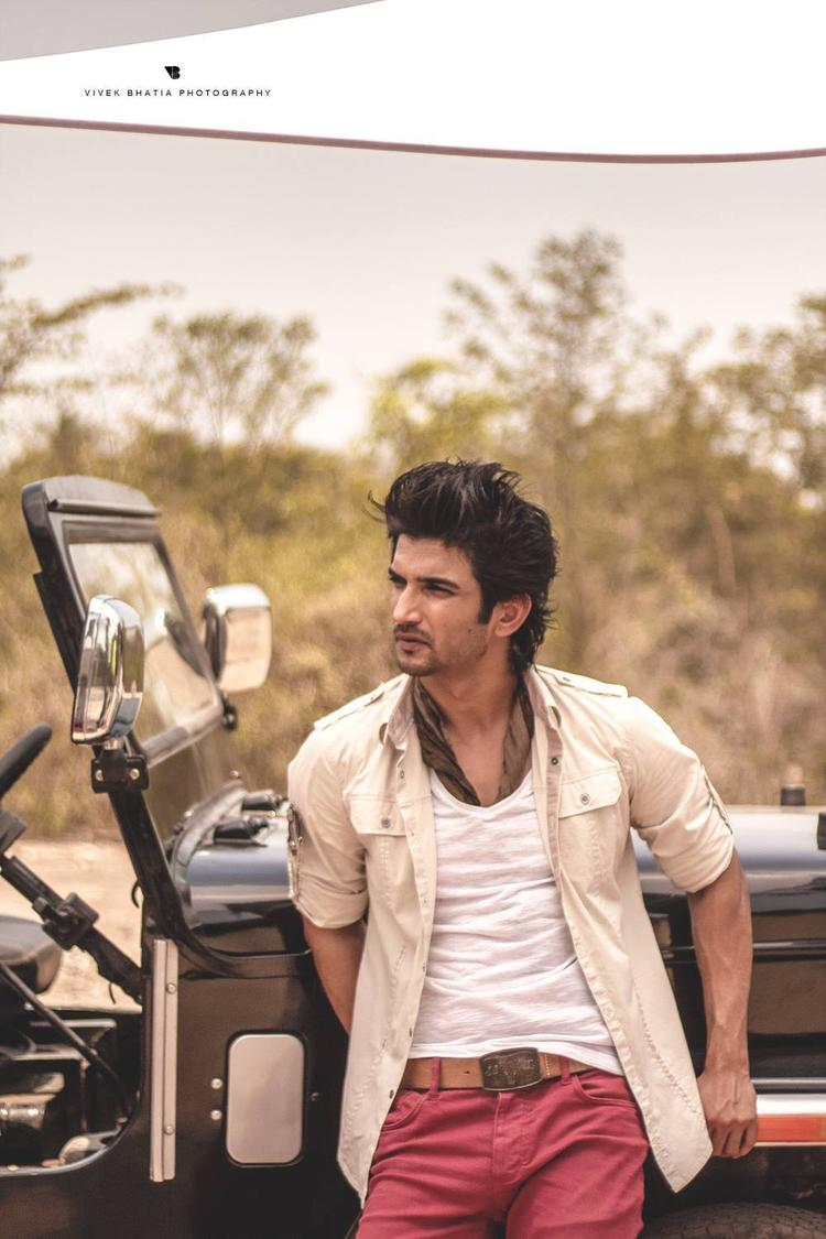 Sushant Singh Rajput Fashionable Look On The Sets Of Filmfare Magazine Photo Shoot