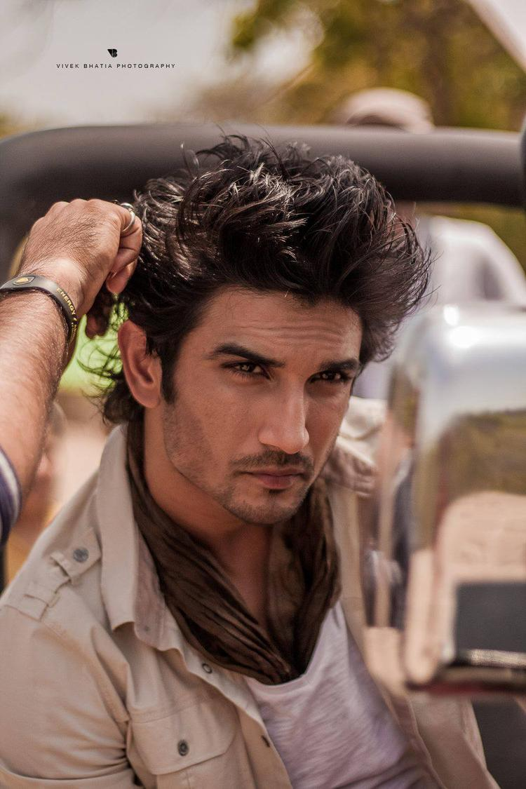Sushant Singh Rajput Hot Look On The Sets Of Filmfare Magazine Photo Shoot