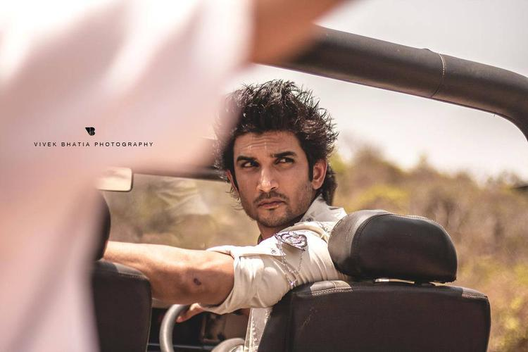 Sushant Singh Rajput Posed For Camera On The Sets Of Filmfare Magazine Photo Shoot