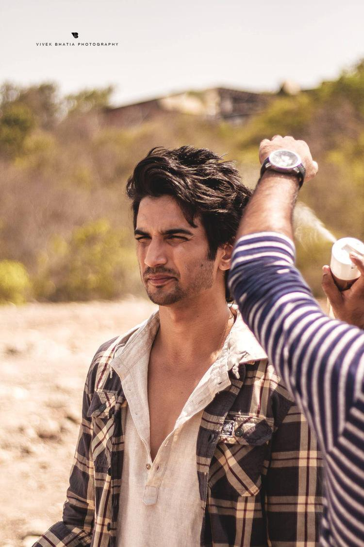 Sushant Singh Rajput On The Shooting Sets Of Filmfare Magazine