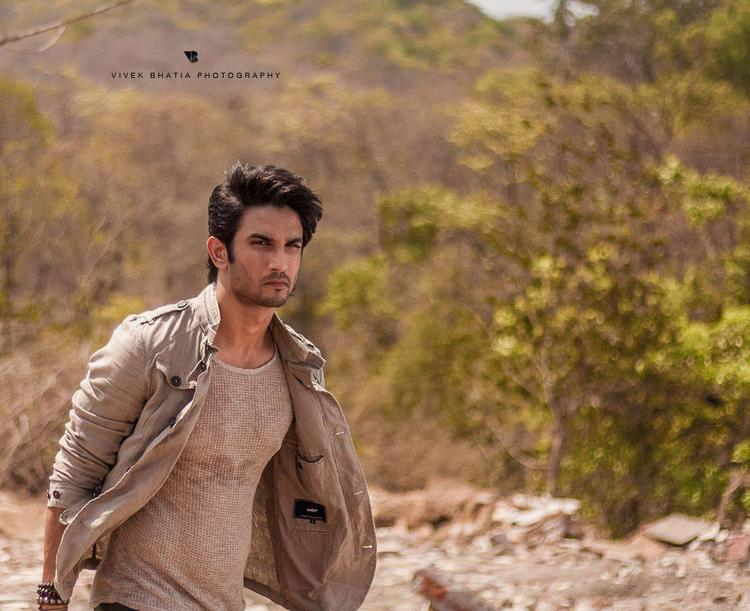Sushant Singh Rajput Stylish Look On The Sets Of Filmfare Magazine Photo Shoot