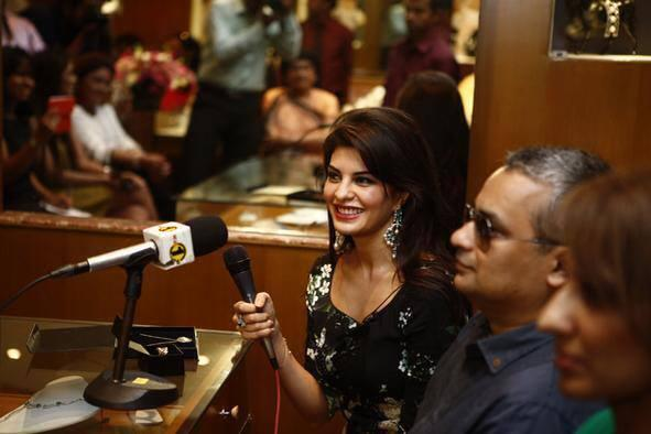 Jacqueline Cute Look During The New CJS Jewellery Collection Launch Event