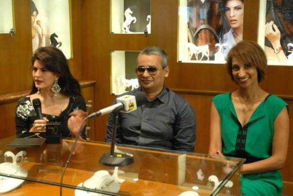 Jacqueline Fernandez At Colombo Jewellery Store Press Meet
