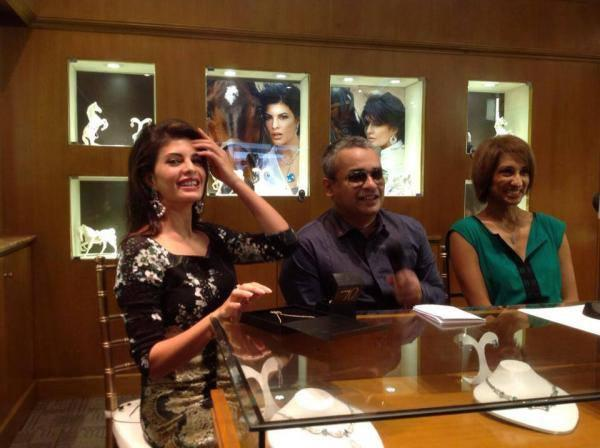 Jacqueline Fernandez A Still During  New CJS Jewellery Collections