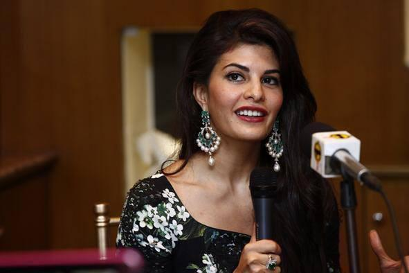 Jacqueline Say Something During The New CJS Jewellery Collection