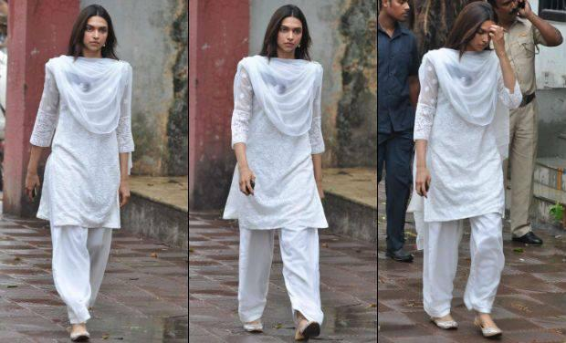 Deepika Attend To Pay Their Last Respects To Priyanka Chopra's Father