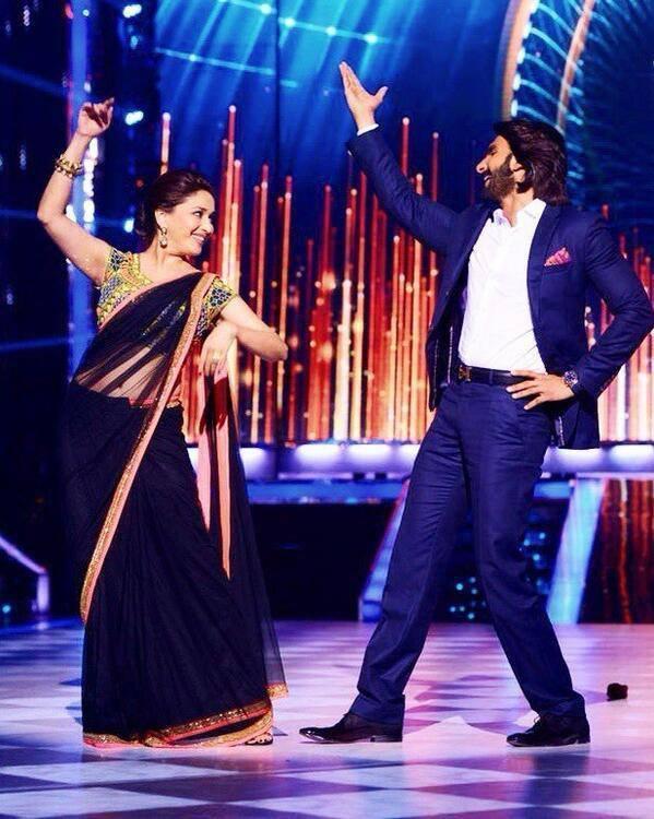 Madhuri Dances With Ranveer On The Sets Of Jhalak Dikhla Jaa Season 6