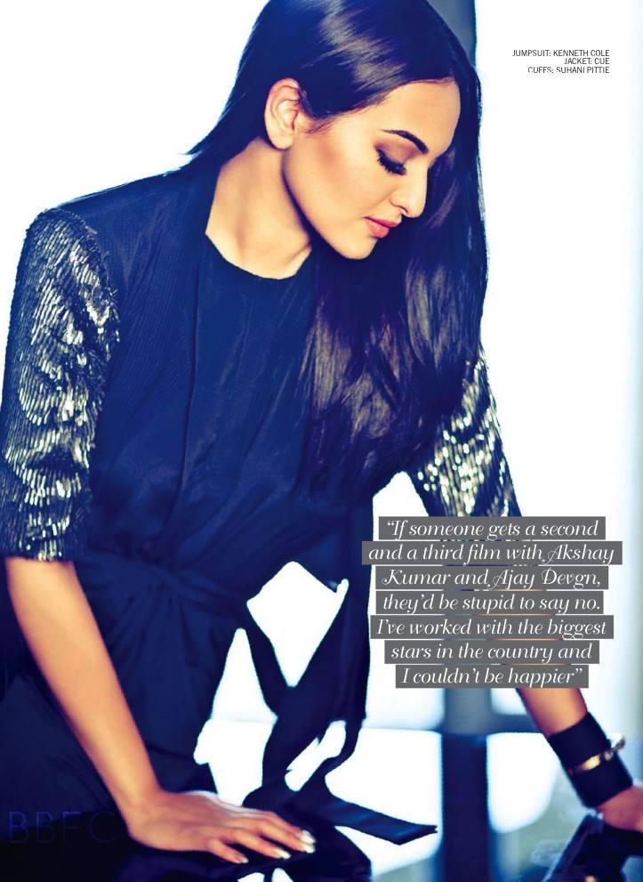 Sonakshi Sinha Ravishing Look Photo Shoot For Filmfare Magazine July 2013