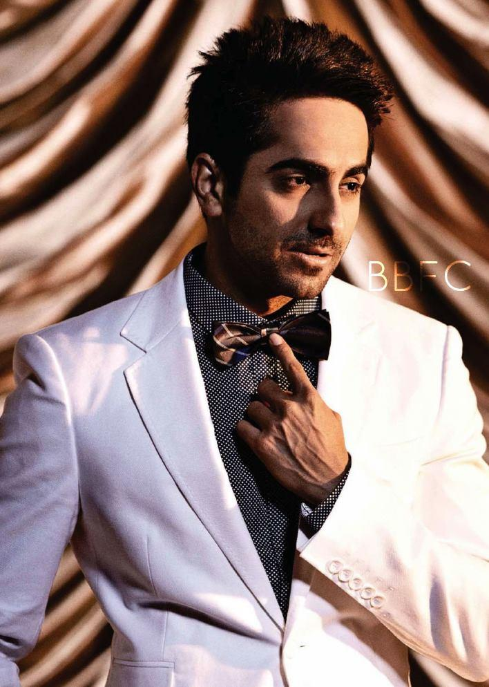 Bollywood Hunk Ayushmann Khurrana Cool Photo Shoot For Filmfare
