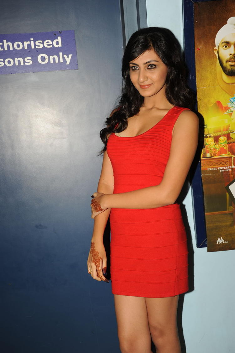 Neelam Upadhyay Glamour Hot Look At Action 3D Movie Premiere Show