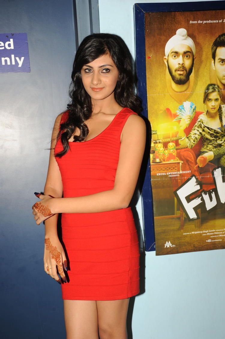 Neelam Upadhyay Glorious Look At Action 3D Movie Premiere Show