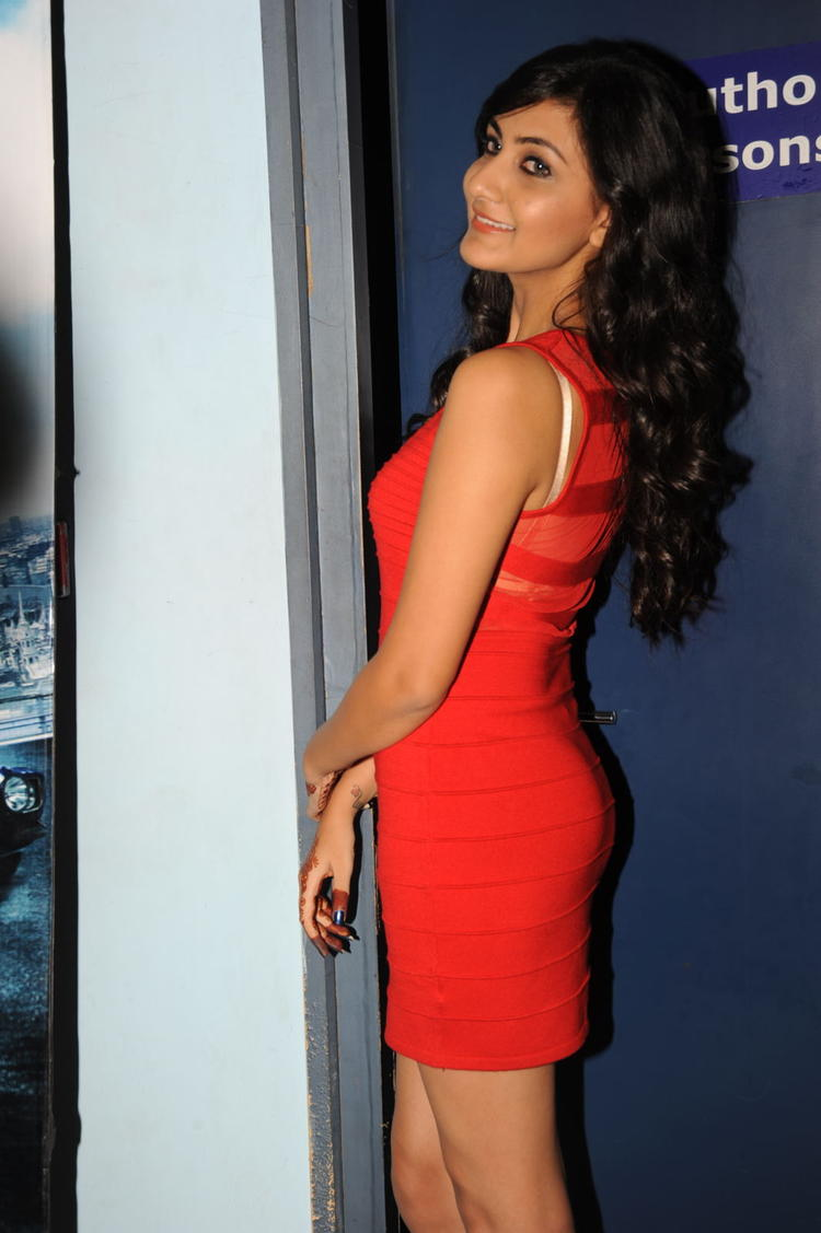 Neelam Upadhyay Posed For Camera At Action 3D Movie Premiere Show