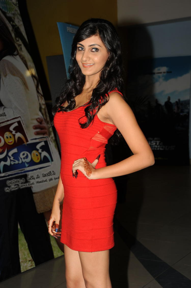Neelam Upadhyay Strikes A Pose At Action 3D Movie Premiere Show