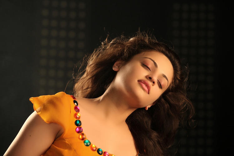 Sneha Ullal Dazzling Face Look From Action 3D Movie