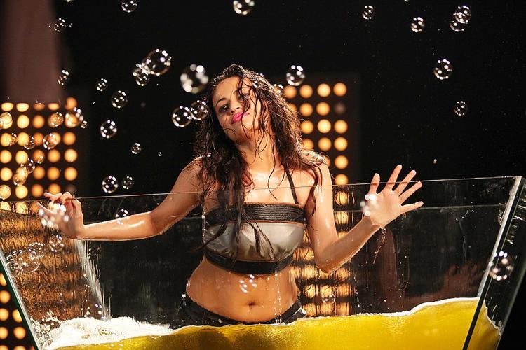 Sneha Ullal Sexy Hot Still From Action 3D Movie