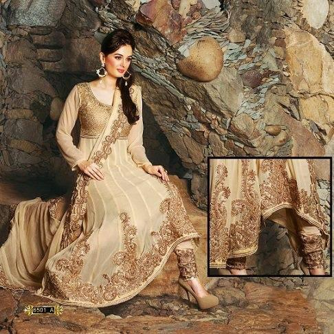 Evelyn Sharma Latest Photo Shoot In Heavy Work Salwar Kameez
