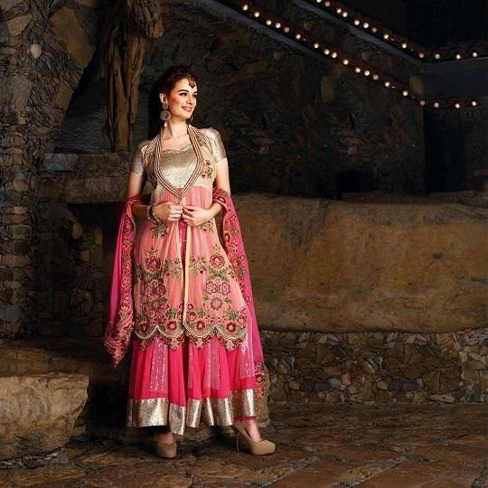 Evelyn Sharma's New Photoshoot For An Indian Designer Wear