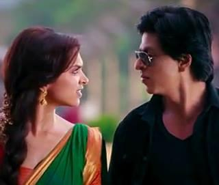 Deepika And SRK Glamour Look From Chennai Express Movie