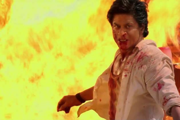 Shahrukh Khan Angry Look Still Chennai Express Movie