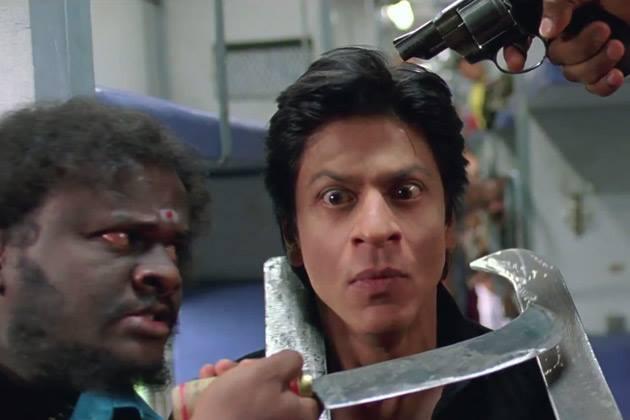 Shahrukh Khan Fear Look Still From Chennai Express Movie