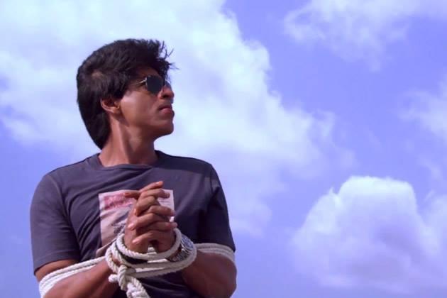 Shahrukh Khan A Still From Chennai Express Movie