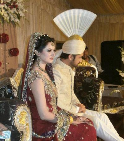 Atif And Sara Nice Gorgeous Look At Their Wedding Reception