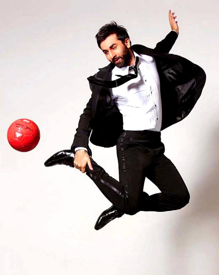 Ranbir Kapoor Action Look Pose Photo Shoot For India Today Magazine June 2013