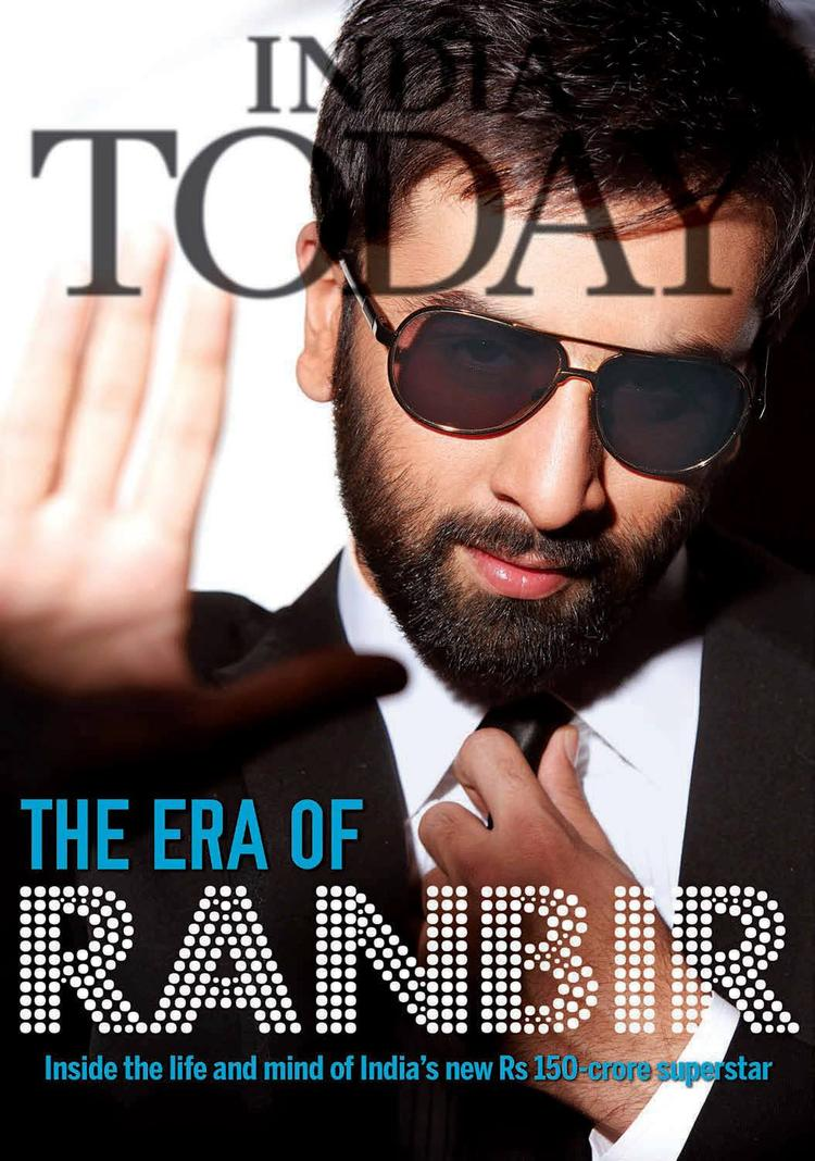 Ranbir Kapoor Glamour Look Featured On The Cover Of India Today Magazine June 2013