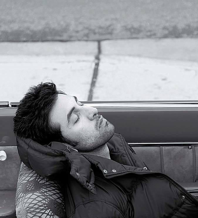 Ranbir Kapoor Sleeping Pose Nice Look Photo Shoot For India Today Magazine June 2013