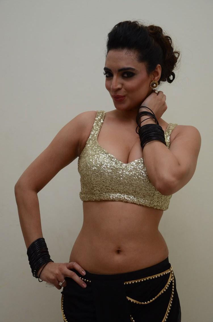 Shweta Bhardwaj Bold Look Pose At Adda Movie Audio Release Function