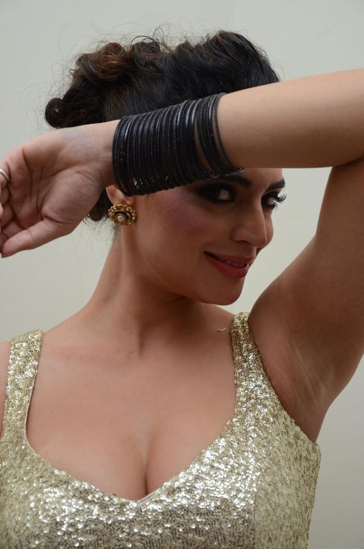 Shweta Bhardwaj Sizzling Look Still At Adda Movie Audio Release Function