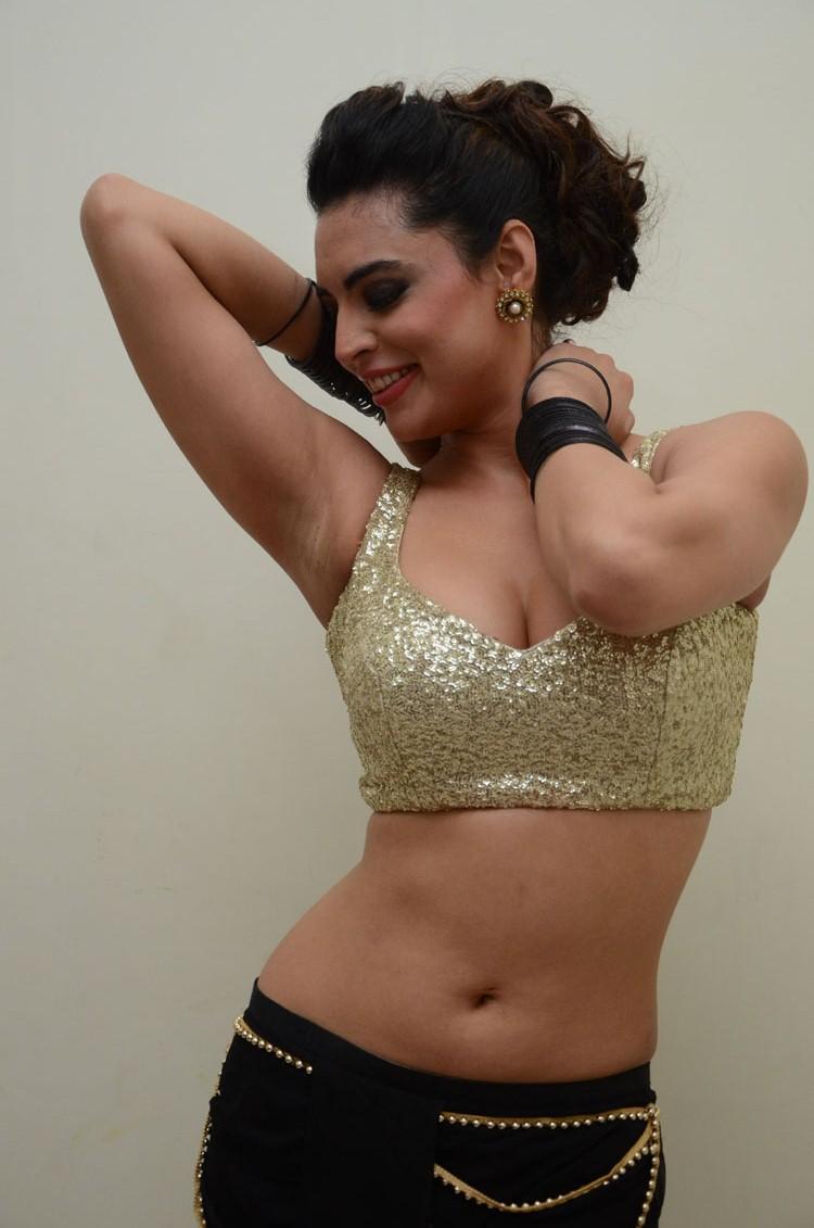 Shweta Bhardwaj Sizzling Spicy Look At Adda Movie Audio Release Function