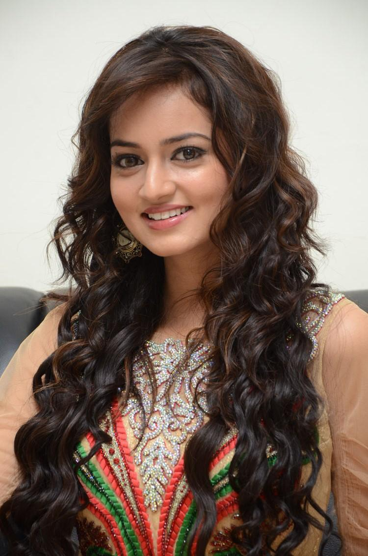 Shanvi Cute Smiling Face Look Still At Adda Movie Audio Release Function