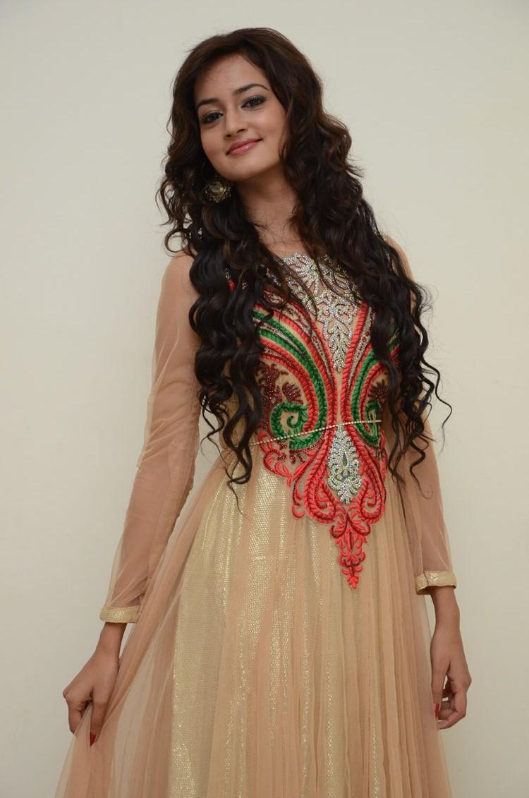 Shanvi Exclusive Nice Look Still At Adda Movie Audio Release Function