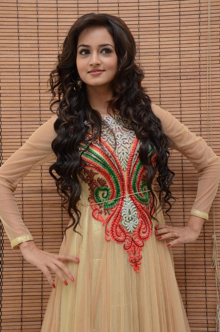 Shanvi Trendy Look Still At Adda Movie Audio Release Function